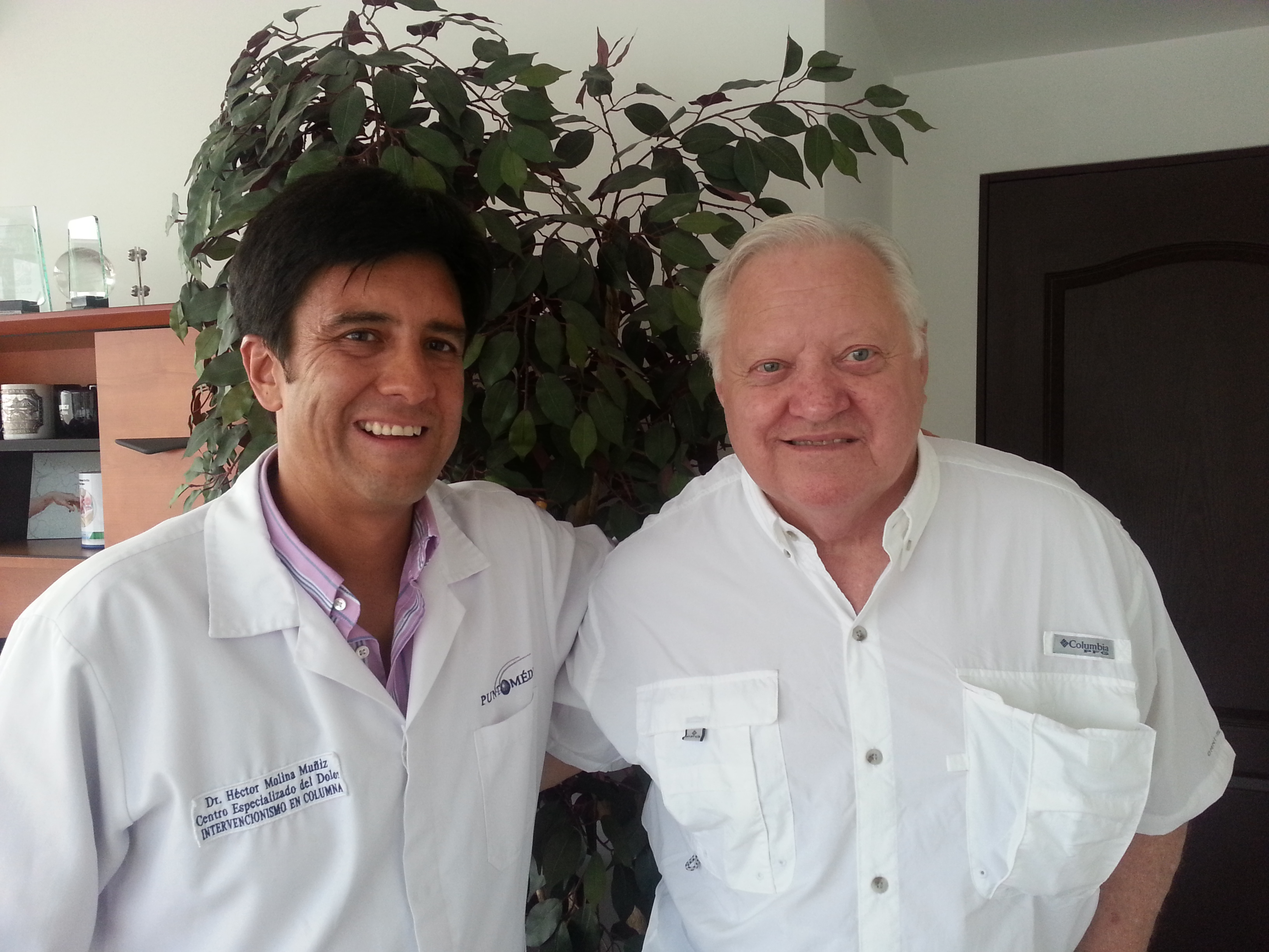 Jim B.,Tx. with Dr. Muñoz-Muniz